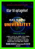 """AFFICHE DE CINÉMA - """" PRÊT À ENREGISTRER! UNIVERSITÉ D'AALBORG """" GO-CARD 1997 No 2583 - - Affiches Sur Carte"""