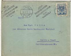 AUSTRIA WIEN 1921 MAT FONDO PARA LOS NIÑOS CHILDREN FUND - Cartas