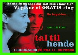 """AFFICHE DE CINÉMA - """" TAL TIL HENDE """" NEWBIE CARD 2002 No 323918 - - Affiches Sur Carte"""
