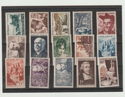 FRANCE  LOT DE TIMBRES ** MNH - Stamps