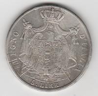 Pièce De 5 Lire 1811 M   - 010 - Temporary Coins