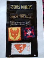 SCOUTISME - 6 X Écusson Insigne Tissu - Scouts D'Europe - Marseille - Louveteau ... TBE - Scoutisme