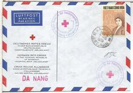 VIETNAM WAR GUERRA BUQUE HOSPITAL ALEMAN HELGOLAND EN DA NANG - Medicina
