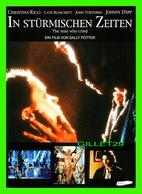 """AFFICHE DE CINÉMA - """" IN STURMISCHEN ZEITEN """" - THE MAN WHO CRIED, FILM OF VON SALLY POTTER - - Affiches Sur Carte"""