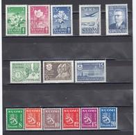 Finland 1950 - Year Set Complete, Mi-Nr. 378/91, MNH** - Finland