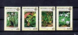 SEYCHELLES, 1983, FLOWERS, 4v. MNH** - Flora