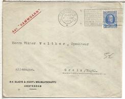 BELGICA VERVIERS 1929 MAT TEMA COCOLATE CACAO COCOA DULCES - Alimentación