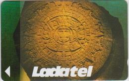 #11 - MEXICO-05 - 19MEXD - LETTER B - LADATEL - AZTEC CALENDAR - Mexico