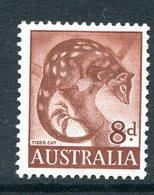 Australia 1959-64 Pictorial Definitives - 8d Tiger Cat HM (SG 317) - 1952-65 Elizabeth II : Pre-Decimals