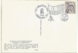 ESTADOS UNIDOS USA HOUSTON 1979 APOLLO 11 ESPACIO SPACE NASA - FDC & Conmemorativos