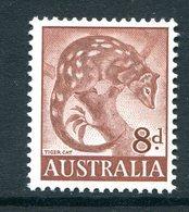 Australia 1959-64 Pictorial Definitives - 8d Tiger Cat - Pale Red Brown MNH (SG 317a) - 1952-65 Elizabeth II : Pre-Decimals