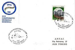 ITALIA - 1988 REGGIO EMILIA  XXX Campionato Mondiale Di Baseball Partita Italia-Nicaragua - Baseball