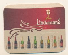 Sous Bock Bière LINDEMANS Avec Jeu Au Dos - Sous-bocks