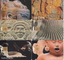 #11 - MEXICO-08 - ARTE PREHISPÁNICO SET OF 6 CARDS - Mexico