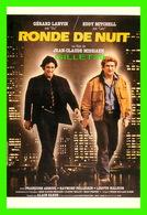 """AFFICHE DE CINÉMA - """" RONDE DE NUIT """" - FILM DE JEAN-CLAUDE MISSIAEN 1984, AVEC GÉRARD LANVIN, EDDY MITCHELL - Affiches Sur Carte"""
