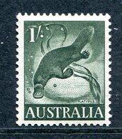 Australia 1959-64 Pictorial Definitives - 1/- Platypus HM (SG 320) - 1952-65 Elizabeth II : Pre-Decimals