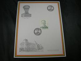"""BELG.1998 Militaire Herdenkingskaart """" LEOPOLD III """" Carte Commémorative Militaire - FDC"""