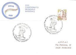 ITALIA - 1988 PARMA XXX Campionato Mondiale Di Baseball Partita Italia-Olanda - Giocatore Pronto Allo Scatto - Baseball