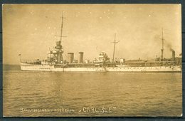 HMS CARLISLE British Royal Navy Warship (CSSR Legation) Postcard - Warships