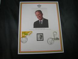 """BELG.1998 Militaire Herdenkingskaart """" BOUDEWIJN-BAUDOUIN """" Carte Commémorative Militaire - FDC"""