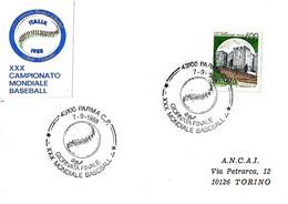 ITALIA - 1988 PARMA XXX Campionato Mondiale Di Baseball Partita Finale CUBA-STATI UNITI - Pallina Da Baseball - Baseball