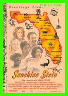 """AFFICHE DE CINÉMA - """" SUNSHINE STATE """" - FILM JOHN SAYLES - FLORIDA MAP - - Affiches Sur Carte"""