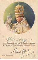 CARTOLINA VIAGGIATA GIUBILEO 1942/43 PAPA PIO XII - Vaticano