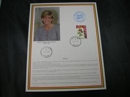 "BELG.1997 Militaire Herdenkingskaart "" PRINCESS DIANA OF WALES "" Carte Commémorative Militaire - FDC"