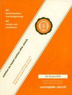 60. Corinphila Briefmarken Auktion 1978 Abbildungsteil Integriert (eingebunden) - Catalogues For Auction Houses