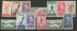 Colonie A.O.I. 1938 - Serie Pittorica Lotto Di 13v. Nuovi* Leggerissima Linguella Perfetti - Africa Oriental Italiana