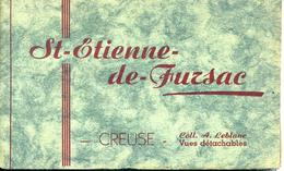 CPA St Etienne De Fursac (Creuse) Carnet De 6 Cartes - Sonstige Gemeinden