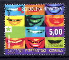 CROATIA 2001 Esperanto Congress  MNH / **.  Michel 578 - Croatia