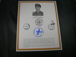 "BELG.1997 Militaire Herdenkingskaart "" George St.Clair Boyd Reid ,Squadron-leader "" Carte Commémorative Militaire - FDC"