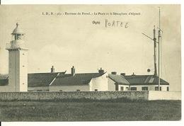 62 - ENVIRONS LE PORTEL / LE PHARE ET LE SEMAPHORE D'ALPRECK - Le Portel