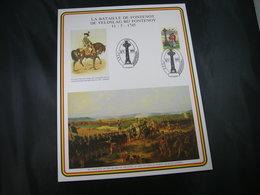 """BELG.1995 Militaire Herdenkingskaart """" FONTENOY """" Carte Commémorative Militaire - FDC"""