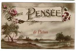 Une Pensée De Piéton - Circulée En 1921 - 2 Scans - Chapelle-lez-Herlaimont