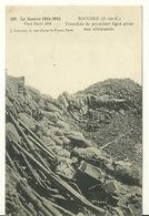 62 - SOUCHEZ / LA GUERRE 1914-15 - TRANCHEE DE PREMIERE LIGNE PRISE AUX ALLEMANDS - Frankreich