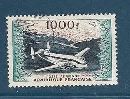 """Timbre Oblitéré France, N°33 Yt, Poste Aérienne, Bréguet  Provence"""",  Alger - Poste Aérienne"""