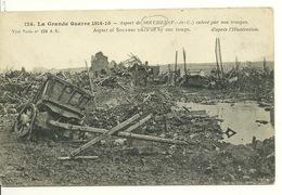 62 - SOUCHEZ / LA GUERRE 1914-15 - ASPECT DE SOUCHEZ ENLEVE PAR NOS TROUPES - Frankreich