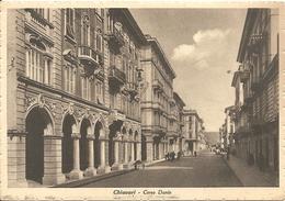 CHIAVARI - CORSO DANTE - F. GRANDE NON LUCIDA - VIAGGIATA - (rif. N116) - Genova