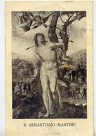 Santino - S.sebastiano Martire - Formato Piccolo Non Viaggiata – E 12 - Cartoline