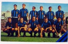 Squadra Di Calcio - Inter - Campionato Di Calcio 1966-1967 - Formato Grande Viaggiata Mancante Di Affrancatura – E 12 - Cartoline