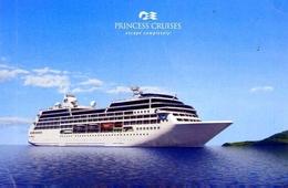 Nave - Princess Cruises - Escape Completely - Formato Grande Non Viaggiata – E 12 - Cartoline