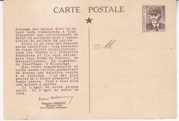 Au Plus Rapide Carte Postale Entier Postal Maréchal Pétain Récupération Métaux Non Ferreux - 1939-45