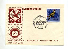 Lettre Premier Vol Lot - Aviones