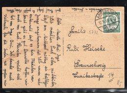 Landpoststempel,Bruchhausen über Arnsberg,12.1.35 Auf Mi 554,Schiller - Germany