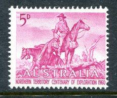 Australia 1960 Centenary Of Northern Territory Exploration - Type I - LHM (SG 335) - 1952-65 Elizabeth II : Pre-Decimals