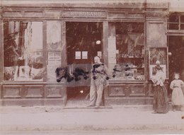 PHOTO ANCIENNE,1900,25,DOUBS,ORNANS,COMME CHARLES BOLARD,COMMERCE,RARE - Photos