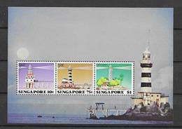 1982 MNH Singapore Mi Block 14, Postfris** - Singapour (1959-...)