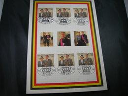 "BELG.1995 Militaire Herdenkingskaarten "" KONINGSFEEST / FETE DU ROI "" Cartes Commémorative Militaire - 1991-00"